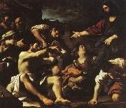 GUERCINO Raising of Lazarus hjf oil painting picture wholesale