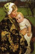 Gari-Julius Melchers Motherhood oil painting picture wholesale