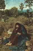 Geertgen Tot Sint Jans John the Baptist in the Wilderness oil painting picture wholesale