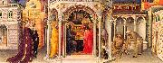 Gentile da  Fabriano The Presentation in the Temple oil painting artist