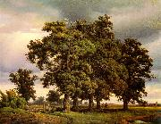 Georg-Heinrich Crola Oak Trees oil painting picture wholesale