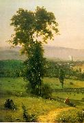 George Inness The Lackawanna Valley oil painting artist