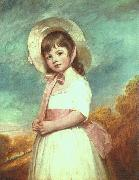 George Romney Miss Willoughby oil painting picture wholesale