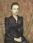 Georges Lemmen Portrait of Sister oil painting picture wholesale