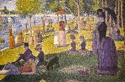 Georges Seurat Sunday Afternoon on the Island of La Grande Jatte oil painting artist