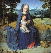 Gerard David The Rest on the Flight into Egypt oil painting artist