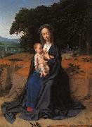 Gerard David The Rest on the Flight into Egypt_1 oil painting artist
