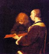 Gerard Ter Borch The Reading Lesson oil painting picture wholesale