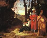 Giorgione The Three Philosophers dh oil painting picture wholesale