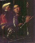 Giorgione Portrait of Warrior with his Equerry sg oil painting picture wholesale