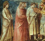 Giotto Scenes from the Life of the Virgin 1 oil painting picture wholesale