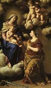 Giovan Battista Salvi Sassoferrato The Mystic Marriage of St.Catherine oil painting picture wholesale