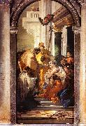 Giovanni Battista Tiepolo The Last Communion of St.Lucy oil painting picture wholesale