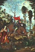 Giovanni Sodoma St.George and the Dragon oil painting artist