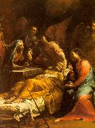 Giuseppe Maria Crespi The Death of St.Joseph oil painting picture wholesale
