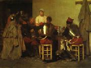 Guillaume Regamey Cuirassiers at the Tavern oil painting picture wholesale