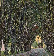 Gustav Klimt Avenue in Schloss Kammer Park oil painting picture wholesale