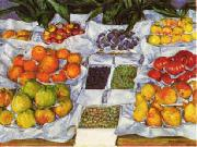 Gustave Caillebotte Fruit Displayed on a Stand Sweden oil painting reproduction