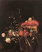 HEEM, Jan Davidsz. de Still-Life with Fruit, Flowers, Glasses and Lobster sf oil painting picture wholesale