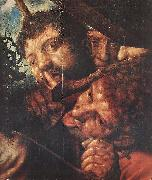 HEMESSEN, Jan Sanders van Christ Carrying the Cross (detail oil painting picture wholesale