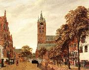 HEYDEN, Jan van der View of the Westerkerk, Amsterdam f oil painting picture wholesale