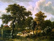 HOBBEMA, Meyndert The Travelers f oil painting picture wholesale