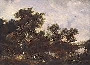 HOBBEMA, Meyndert The Watermill sfr oil painting picture wholesale
