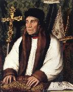 HOLBEIN, Hans the Younger Portrait of William Warham, Archbishop of Canterbury f oil painting picture wholesale