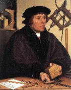 HOLBEIN, Hans the Younger Portrait of Nikolaus Kratzer gw oil painting picture wholesale