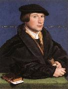 HOLBEIN, Hans the Younger Portrait of a Member of the Wedigh Family sf oil painting picture wholesale