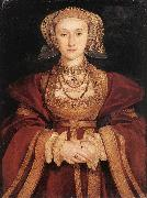 HOLBEIN, Hans the Younger Portrait of Anne of Cleves sf oil painting picture wholesale