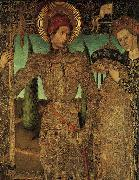 HUGUET, Jaume Triptych of Saint George (detail) af oil painting picture wholesale
