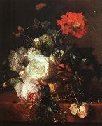 HUYSUM, Jan van Basket of Flowers sf oil painting picture wholesale