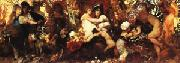 Hans Makart Abundantia the Gifts of the Earth oil painting picture wholesale