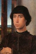 Hans Memling Portrait of a Young Man    kk oil painting artist