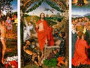 Hans Memling Resurrection Triptych oil painting picture wholesale