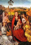 Hans Memling Mary in the Rose Bower oil painting picture wholesale