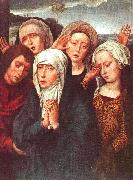 Hans Memling The Virgin, St.John and the Holy Women oil painting picture wholesale