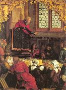 Hans Suss von Kulmbach The Sermon of St.Peter oil painting artist