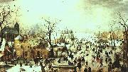 Hendrick Avercamp Winter Landscape oil painting picture wholesale