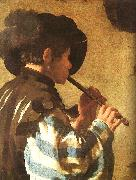 Hendrick Terbrugghen The Flute Player oil painting picture wholesale