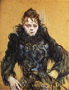Henri De Toulouse-Lautrec Woman with a Black Boa oil painting picture wholesale