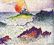 Henri Edmond Cross Afternoot at Pardigon oil painting picture wholesale