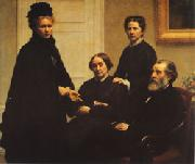 Henri Fantin-Latour The Dubourg Family oil painting picture wholesale