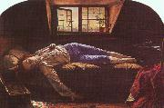 Henry Wallis The Death of Chatterton oil painting artist