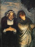 Honore  Daumier Scene from a Comedy oil painting picture wholesale