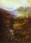 J.M.W. Turner Morning Amongst Coniston Fells, Cumberland oil painting artist