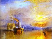J.M.W. Turner Fighting Temeraire Tugged to Her Last Berth to Be Broken up oil painting picture wholesale