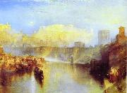 J.M.W. Turner Ancient Rome; Agrippina Landing with the Ashes of Germanicus oil painting picture wholesale