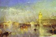 J.M.W. Turner The Dogana, San Giorgio, Citella, From the Steps of the Europa. oil painting picture wholesale